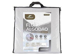 Protetor de Colchão Flor de Algodão Impermeavel 90x190 Solteiro Fibrasca