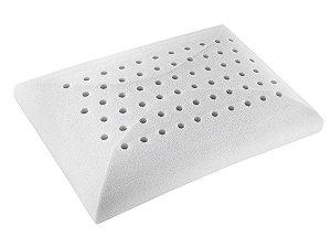 Travesseiro Látex Lavável Toque de Rosas para fronha 50x70 Fibrasca