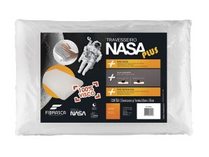 Travesseiro Nasa Plus Alto p/fronha 50x70 Fibrasca