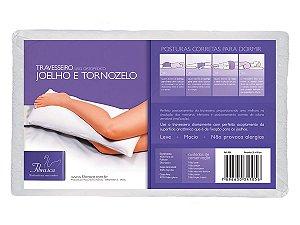 Travesseiro Joelho e Tornozelo 35x80cm Fibrasca