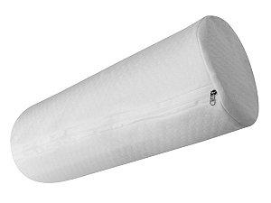 Travesseiro Rolo para Cabeceira de Cama King 20x187 Fibrasca