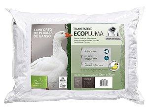 Travesseiro Toque de Pluma Ecopluma fronhas 50x70  Fibrasca