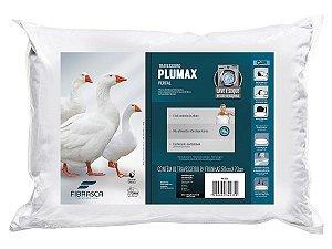 Travesseiro Plumax Percal Integralmente Lavável p/fronhas 50x70 Fibrasca