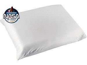 Travesseiro Nasa Alto Supernasa Íons de Prata p/fronhas 50x70 Fibrasca