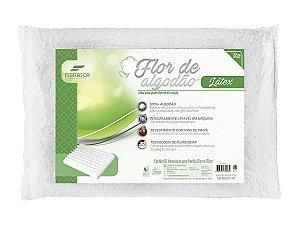 Travesseiro Flor de Algodão Látex Lavável Fibrasca para fronha 50x70cm
