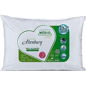 Travesseiro Altenburg Suporte Médio Percal 180fios 50x70cm
