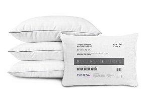 Travesseiro Anti Stress Suporte Firme Camesa 50x70cm