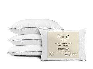 Travesseiro Neo Prime 233 Fios Suporte Firme Camesa 50x70 cm