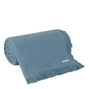 Colcha Solteiro In Design Azul 1 peça Buddemeyer 160x230cm