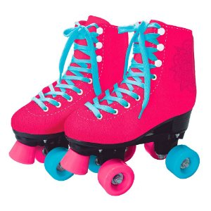 Super Patins Quad Rosa - 4 Rodas