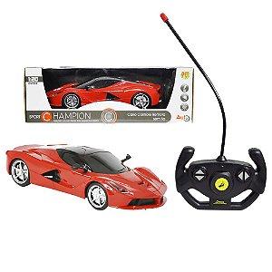 Carro Controle Remoto Sem Fio - Dm Toys