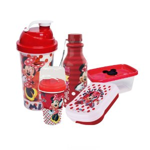 Kit Lanche Escolar Minnie Mouse