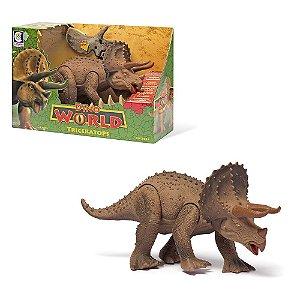 Dinossauro Triceratops - Cotiplás