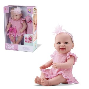 Boneca Bebê New Born - Dengo
