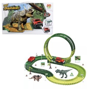 Pista Dinossauro Track 132 Peças