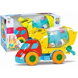 Caminhão Robustus Kids Betoneira de Bolinhas