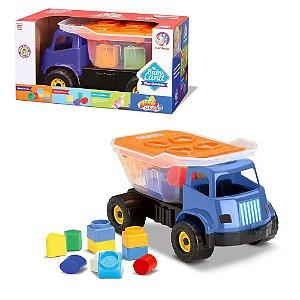 Brinquedo Educativo Caminhão Dino Sabidinho Baby Land