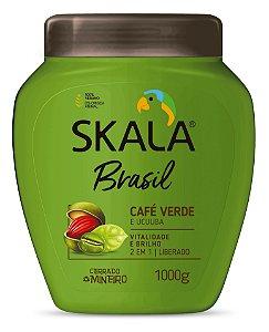 SKALA CREME DE TRATAMENTO CAFÉ VERDE E UCUUBA 1kg