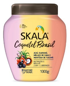 SKALA CREME DE TRATAMENTO COQUETEL BRASIL 1kg