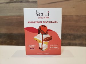 KORUI ABSORVENTE DE PANO SUPER - CONFORTO NATURAL (ESTAMPA SORTIDA)