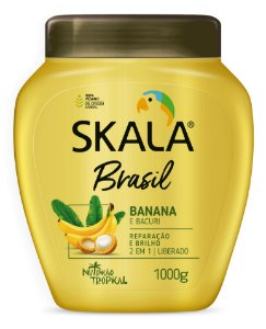 SKALA CREME DE TRATAMENTO BANANA  E BACURI 1kg