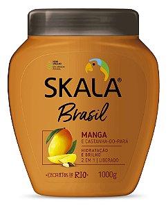 SKALA CREME DE TRATAMENTO + CREME PARA PENTEAR MANGA E CASTANHA DO PARÁ 1kg