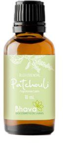 BHAVA ÓLEO ESSENCIAL DE PATCHOULI CERTIFICADO IBD NATURAL 10ml