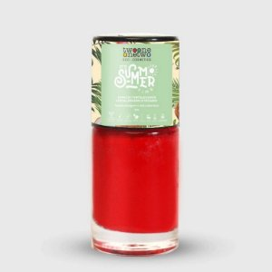 TWO ONE ONE TWO ESMALTE IT´S SUMMER TIME HIPOALERGÊNICO FLAME SCARLET 10ml