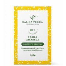 SAL DA TERRA SABONETE DE ARGILA AMARELA 100g
