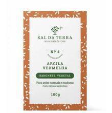 SAL DA TERRA SABONETE DE ARGILA VERMELHA 100g