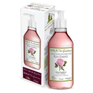 SKALA THE GARDENER SABONETE LÍQUIDO ROSE ESSENCE 275ML