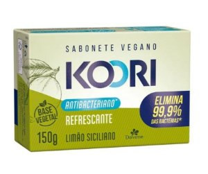 DAVENE SABONETE VEGETAL ANTIBACTERIANO REFRESCANTE KOORI  150GR