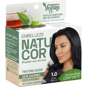 NATUCOR PRETO NATURAL 1.0