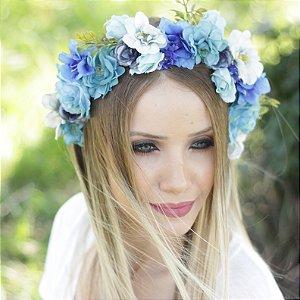 Tiara de Flores Sasha