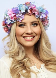 Tiara de Flores Nuance