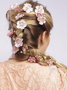 Grampo de Flores Pessegueiro Belle