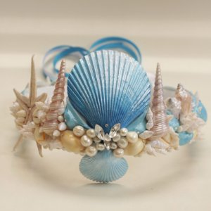 Coroa de Conchas Sereia Odoyá
