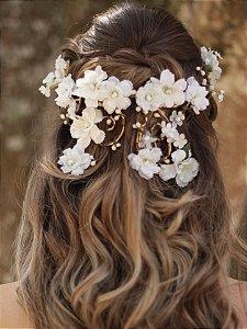 Coroa de Flores Cascata Confissão