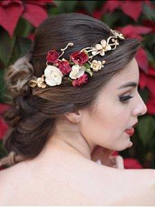 Coroa de Flores Águia Dourada