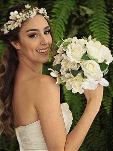 Buquê de Flores Noiva  Branco
