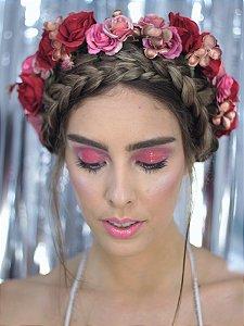Tiara de Flores Red Roses