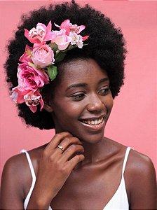 Arranjo de Flores Tons de Rosa Luise