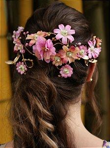 Arranjo de Cabelo Flores Sorte Grande