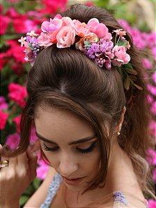 Arranjo de Cabelo Flores Monalisa
