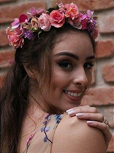Tiara de Flores Monalisa