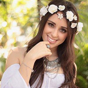 Tiara de Flores Melissa