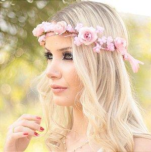 Tiara de Flores Linda