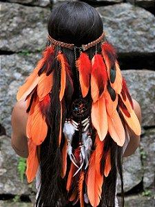 Headband de Penas Iracema