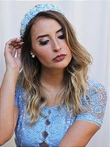 Tiara Pérola Elizabeth Azul
