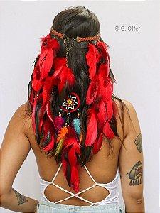 Headband de Penas Anahí